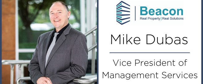 Mike Dubas Promotion to VP of Management Services